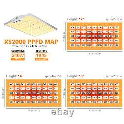 VIPARSPECTRA XS1000 XS1500 XS2000 XS4000 LED Grow Lights for Plants Veg Flower