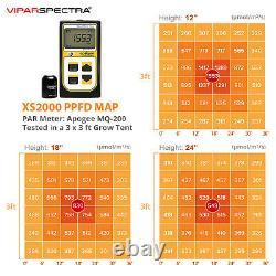 VIPARSPECTRA XS2000 LED Grow Light Samsungled LM301B for All Plants Veg Flowers