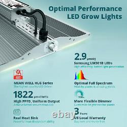VIPARSPECTRA XS4000 4000W LED Grow Light Full Spectrum All Plants Veg Flower IR