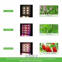 VIVOSUN 1200W Cree COB LED Grow Light Full Spectrum Veg Bloom for Indoor Plants
