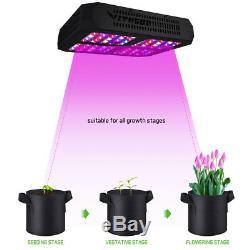 VIVOSUN 600W LED Grow Light Full Spectrum Veg Bloom for Indoor Plant Hydroponics