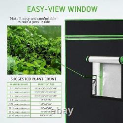 VIVOSUN TS 1000W LED Grow Light Veg Flower Plant+4'x4' Indoor Grow Tent Kits