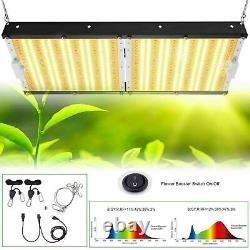 White LED 3500K LED Grow Light Full Spectrum Indoor Plants Seeding Veg Flower