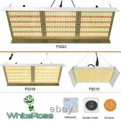 WhiteRose 2000W 4000W 6000W LED Grow Light Full Spectrum For Plants Veg Flower