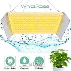 WhiteRose 2000W LED Grow Light Full Spectrum For Indoor VEG UV IR Flower Booster