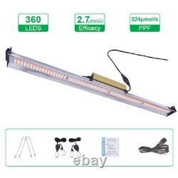 WhiteRose 9000W LED Grow Light Strip Full Spectrum for All Indoor Veg Plants