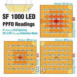 1000w 2000w 4000w Led Grow Light Samsung Lm301b Intérieur Toutes Les Étapes Veg Flower