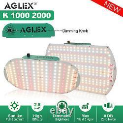 1000w 2000w Led Grow Light Full Spectrum For Veg Flower All Stages Grow Lamp