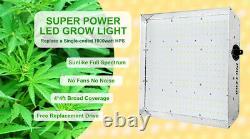 1000w Dimmable Led Grow Light Lamp Full Spectrum For All Indoor Plant Veg Flower