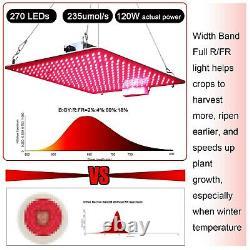 1000w Full Red Light Led Grow Light Full Spectrum Pour Les Plantes De Vég.