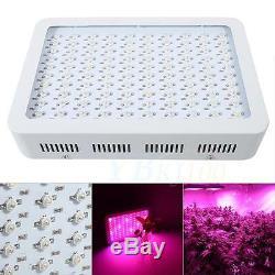1000w Full Spectrum Led Lumière Plante Pousse Veg Bloom Lampe À Effet De Serre D'intérieur Jardin