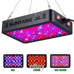 1000w Led Grow Light Full Spectrum Pour Plantes D'intérieur Et Veg Fleur Sunraise Nouveau