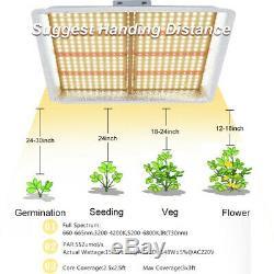 1000w Led Grow Light Full Spectrum Pour Tous D'intérieur Plante Veg Fleur USA