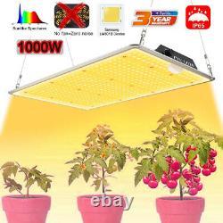 1000w Led Grow Light Samsung Lm301b Quantum Board Lampe Veg Flower Plantes D'intérieur