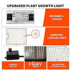 1000w Led Grow Panneau De Lumière Spectre Complet Pour L'intérieur Veg Bloom Sunlike Cultivation
