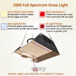 1000w Sunlike Led Grow Light Full Spectrum Indoor Plants Veg Bloom Ir Grow