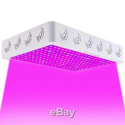 1200/2000 / 4000w Led Grow Light Full Spectrum Ir Plantes D'intérieur Panneau Veg Bloom États-unis