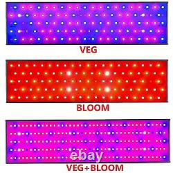 1500avec3000with5000w Led Grow Light 100% Full Spectrum Veg Bloom Flower Switch Lamp