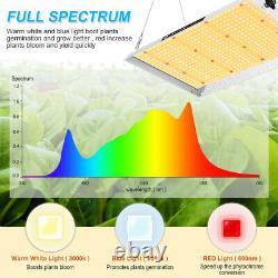 1500w Led Lampe De Croissance Remplacer Hps Hid Soleil Comme Le Spectre Complet Veg Hydroponis
