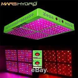 2 Mars Hydro Réflecteur 1000w Led Grow Light Full Spectrum Pour L'intérieur Veg Fleur
