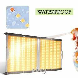 2000w Double Led Full Spectrum Grow Light Veg Fleur Pour La Maison D'intérieur Plante Ip65