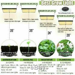 2000w Led Grow Light 2'x4' Flower Full Spectrum Pour Les Led De L'intérieur Usine Veg