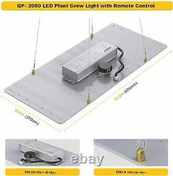 2000w Led Grow Light Full Spectrum Pour Toutes Les Plantes De Bloom Veg Intérieur