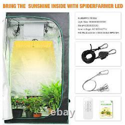2000w Led Grow Light Hydroponic Full Spectrum Indoor Veg Flower Plant Bloom Lampe