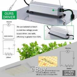 2000w Led Grow Light Spectre Complet Plantes D'intérieur Hydro Seeding Veg Flower Bloom