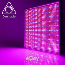 200w Dimmable Led Grow Light Hydroponique Full Spectrum Veg Bloom Panel Lampe Usine