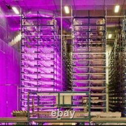 2pack 2000w T5 Ampoule Led À Double Tube Grow Light Full Spectrum Indoor Plant Veg Lamp
