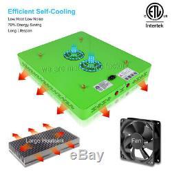 2pcs Mars Hydro Réflecteur 1000w Led Grow Light Full Spectrum Plante Veg Fleur