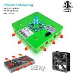2pcs Mars Hydro Réflecteur 300w Led Grow Light Panel Lampe D'intérieur Plante Veg Bloom