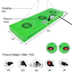 2pcs Mars Hydro Réflecteur 800w Led Lampes Veg Fleurs D'intérieur Full Spectrum