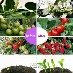 2x 1000w Éclairage Jardin Led Full Spectrum Lampe D'intérieur À Effet De Serre Veg & Fleur