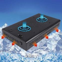 2x Mars Eco 600w Full Spectrum Led Grow Light Pour L'intérieur Plante Veg Lampe Fleur