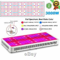 3000w 2000w Led Grow Light Hydro Full Spectrum Veg Panneau D'intérieur Lampe Usine Bloom