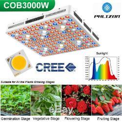 3000w 6xcree Cob Led Grow Light Full Spectrum Pour Tous D'intérieur Plante Veg Fleur