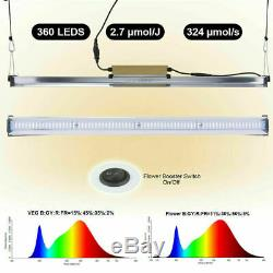 3000w Led Grow Light Flower Lamp Blooming Full Spectrum Pour Plantes D'intérieur Et Veg