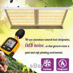 3000w Led Grow Light Full Spectrum Sunlike 3500k Pour Plantes D'intérieur Vegs Lampe