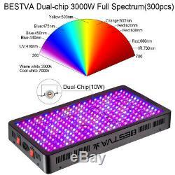 3000w Led Grow Light Full Spectrum Veg & Bloom Pour Médical Commercial