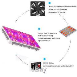 3000w Led Grow Light Lamp Panel Pour Plante Veg Hydroponique Full Spectrum Intérieur