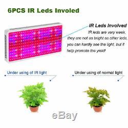 4 × 3000w Led Grow Light Kits Full Spectrum Lampe Pour Hydroponique Plante Veg Fleur