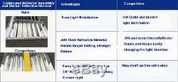 40000 Lumens Ho T5 Élèvent La Lumière 4 Pi Lampe 8 Ampoule Montage Fluorescent Fleur Veg
