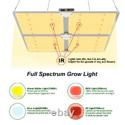 4000w Commercial Led Grow Light Full Spectrum Avecsamsung Lm301b Veg Bloom Intérieur