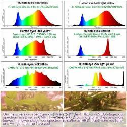 4000w Dimming Control Led Grow Light Sunlike Full Spectrum For Seeding Veg&bloom