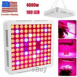 4000w Led Grow Light Full Spectrum Hydro Veg Fleur Médicale Lampe Végétale Ip65