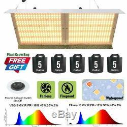 4000w Led Grow Light Full Spectrum Veg & Bloom Double Commutateur Pour Plantes D'intérieur