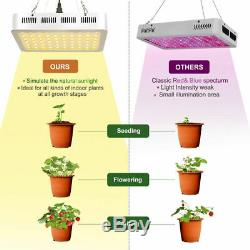 4pcs 1000w Watt Led Grow Light Full Spectrum Lampe Pour Hydroponique Usine Veg Bloom