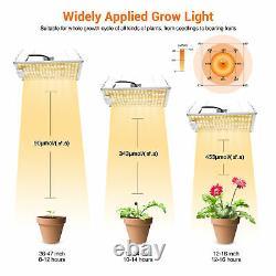 4x 1000w Led Grow Light Kit Full Spectrum Sunlike All Indoor Plant Veg Flower